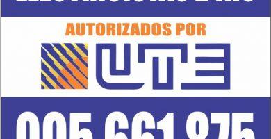 Electricista Habilitados por UTE en Montevideo