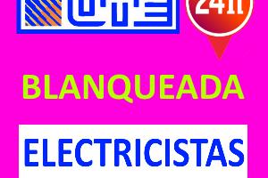 Electricista en la Blanqueada