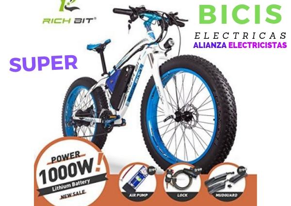 bici electrica uruguay cross